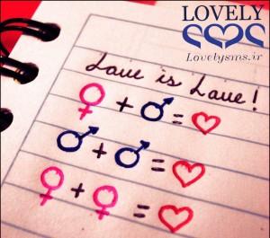 Love is Love by OlguiiS Fun3da 300x265 سری بیستم و دوم اس ام اس عاشقانه تیر